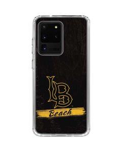 LB Beach Black Galaxy S20 Ultra 5G Clear Case