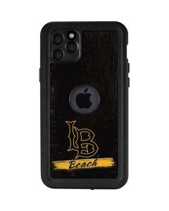 LB Beach Black iPhone 11 Pro Max Waterproof Case