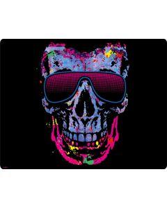 Neon Skull with Glasses Generic Laptop Skin