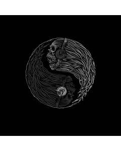 Yin Yang Music Skulls Generic Laptop Skin