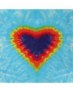 Tie Dye Heart LifeProof Nuud iPhone Skin