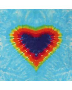 Tie Dye Heart LifeProof Nuud iPhone Skin