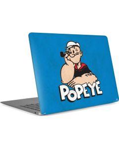 Leaning Popeye Apple MacBook Air Skin