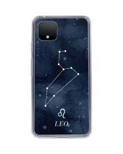 Leo Constellation Google Pixel 4 XL Clear Case