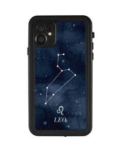 Leo Constellation iPhone 11 Waterproof Case