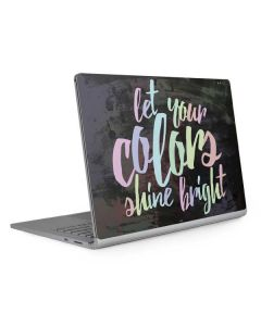 Let Your Colors Shine Bright Surface Book 2 15in Skin