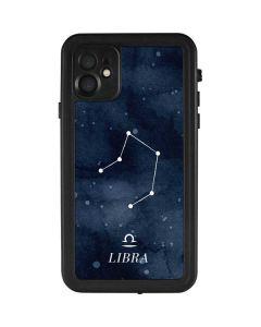 Libra Constellation iPhone 11 Waterproof Case