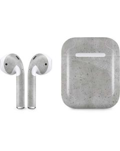 Light Grey Concrete Apple AirPods Skin