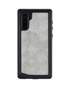 Light Grey Concrete Galaxy Note 10 Waterproof Case