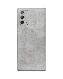 Light Grey Concrete Galaxy Note20 5G Skin