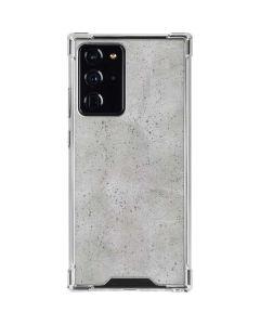 Light Grey Concrete Galaxy Note20 Ultra 5G Clear Case