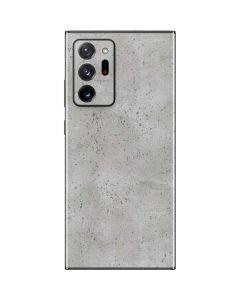 Light Grey Concrete Galaxy Note20 Ultra 5G Skin