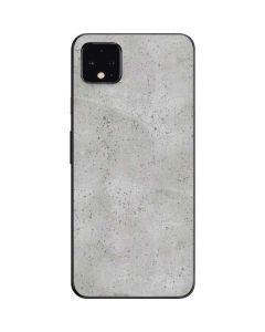 Light Grey Concrete Google Pixel 4 XL Skin