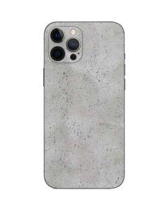 Light Grey Concrete iPhone 12 Pro Skin