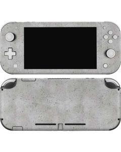 Light Grey Concrete Nintendo Switch Lite Skin