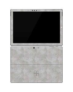 Light Grey Concrete Surface Pro 7 Skin