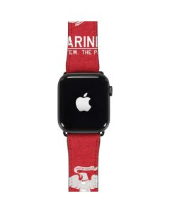 Light Red Eagle Apple Watch Band 42-44mm