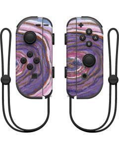 Lilac Watercolor Geode Nintendo Joy-Con (L/R) Controller Skin