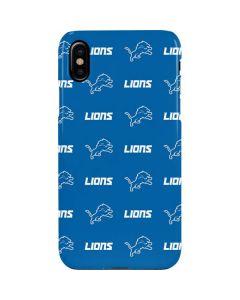 Detroit Lions Blitz Series iPhone XS Max Lite Case
