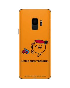 Little Miss Trouble Galaxy S9 Skin