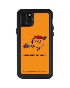 Little Miss Trouble iPhone 11 Pro Max Waterproof Case
