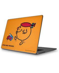 Little Miss Trouble Apple MacBook Pro 17-inch Skin