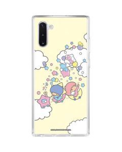 Little Twin Stars Floating Galaxy Note 10 Clear Case