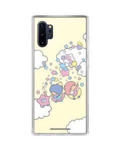 Little Twin Stars Floating Galaxy Note 10 Plus Clear Case