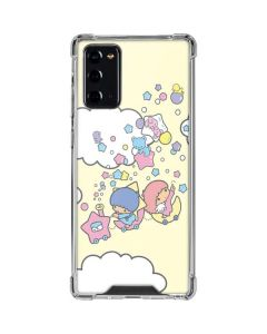 Little Twin Stars Floating Galaxy Note20 5G Clear Case