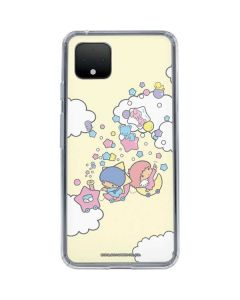 Little Twin Stars Floating Google Pixel 4 Clear Case
