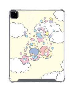 Little Twin Stars Floating iPad Pro 12.9in (2020) Clear Case