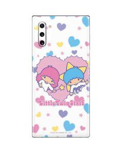 Little Twin Stars Hearts Galaxy Note 10 Skin
