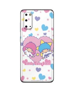Little Twin Stars Hearts Galaxy S20 Skin
