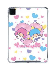 Little Twin Stars Hearts iPad Pro 11in (2020) Clear Case