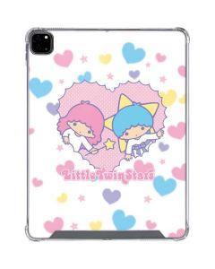 Little Twin Stars Hearts iPad Pro 12.9in (2020) Clear Case
