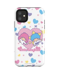 Little Twin Stars Hearts iPhone 11 Impact Case