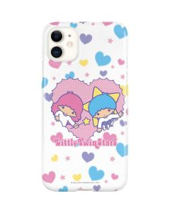 Little Twin Stars Hearts iPhone 11 Lite Case