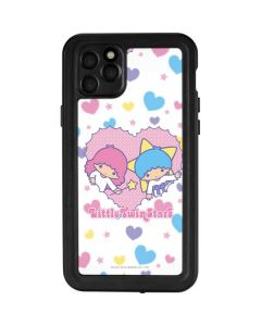 Little Twin Stars Hearts iPhone 11 Pro Max Waterproof Case