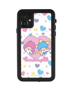 Little Twin Stars Hearts iPhone 11 Waterproof Case