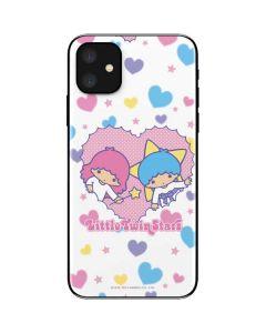 Little Twin Stars Hearts iPhone 11 Skin