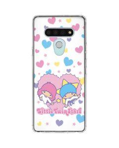 Little Twin Stars Hearts LG Stylo 6 Clear Case