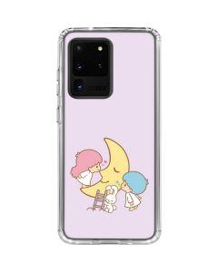 Little Twin Stars Moon Galaxy S20 Ultra 5G Clear Case