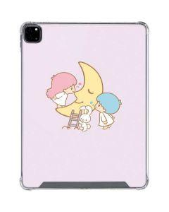 Little Twin Stars Moon iPad Pro 12.9in (2020) Clear Case