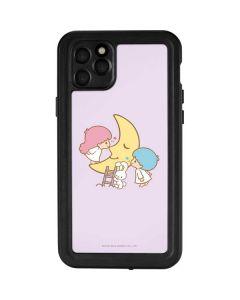 Little Twin Stars Moon iPhone 11 Pro Max Waterproof Case