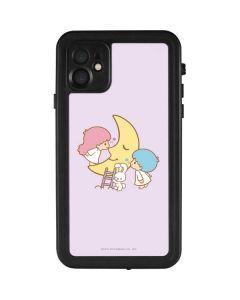 Little Twin Stars Moon iPhone 11 Waterproof Case