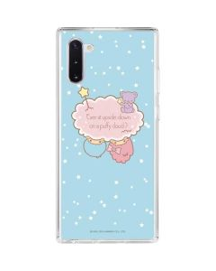 Little Twin Stars Puffy Cloud Galaxy Note 10 Clear Case
