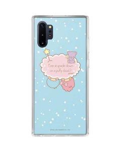 Little Twin Stars Puffy Cloud Galaxy Note 10 Plus Clear Case