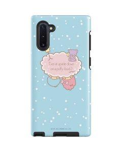 Little Twin Stars Puffy Cloud Galaxy Note 10 Pro Case