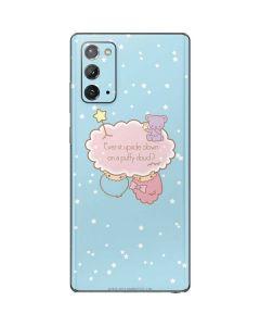 Little Twin Stars Puffy Cloud Galaxy Note20 5G Skin