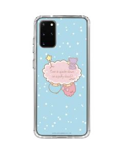 Little Twin Stars Puffy Cloud Galaxy S20 Plus Clear Case